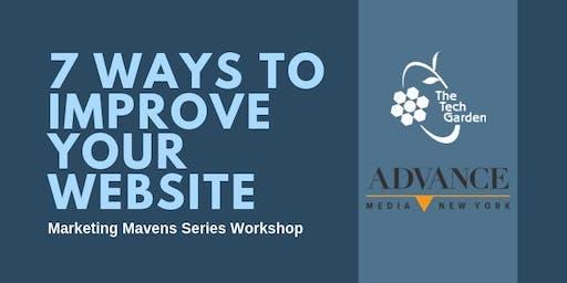Marketing Mavens: 7 Ways To Improve Your Website