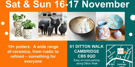 Pottery taster session at Kiln Cambridge tickets