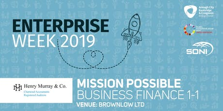 Mission Possible: Business Finance 1-1 Brownlow Ltd tickets