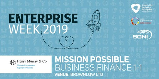 Mission Possible: Business Finance 1-1 Brownlow Ltd