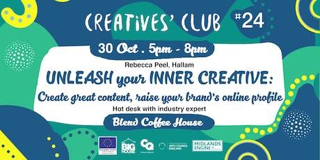 Creatives' Club #024: Unleash your Inner Creative tickets