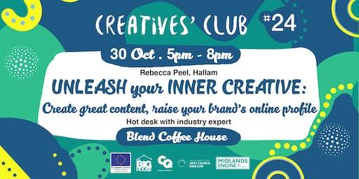 Creatives' Club #024: Unleash your Inner Creative