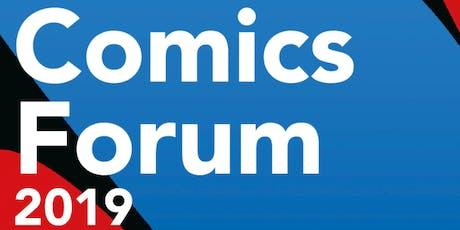 Comics Forum 2019 tickets