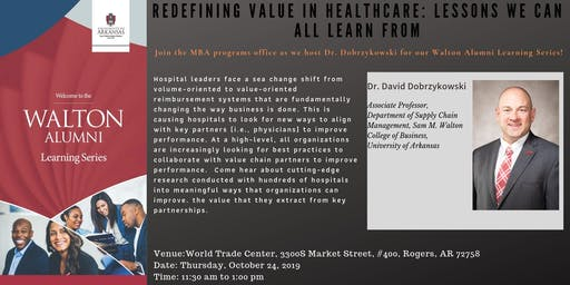 Redefining Value in Healthcare: Lessons We Can All Learn From