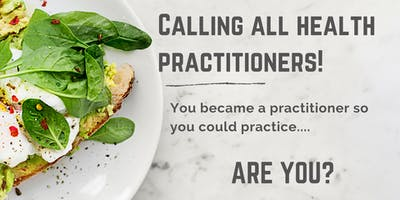 Info Session: For Nutritionists Who Want to Practice but Aren't