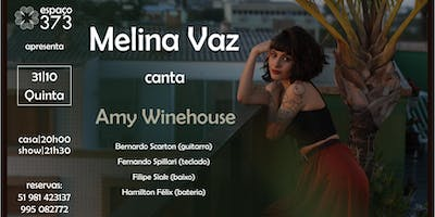 Melina Vaz canta Amy Winehouse