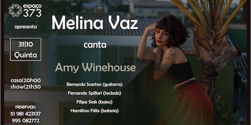 Melina Vaz canta Amy Winehouse