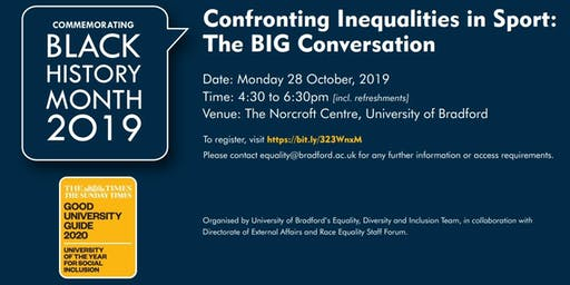 Confronting Inequalities in Sport: The Big Conversation