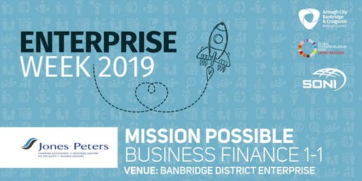 Mission Possible: Business Finance 1-1 Banbridge District Enterprise