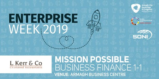 Mission Possible: Business Finance 1-1 Armagh Business Centre