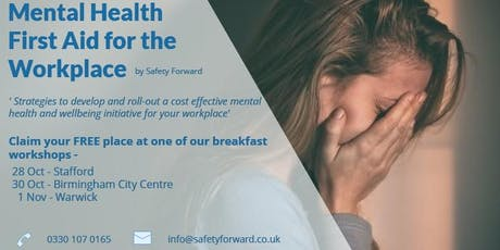 Mental Health First Aid Taster Session tickets
