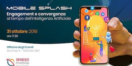 Mobile Splash biglietti