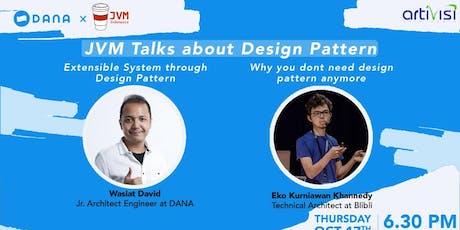 JVM Meetup #24 - JVM x DANA  - Talk About Design Pattern tickets