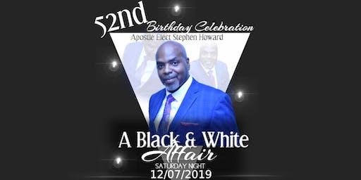 Black & White Affair Birthday Celebration