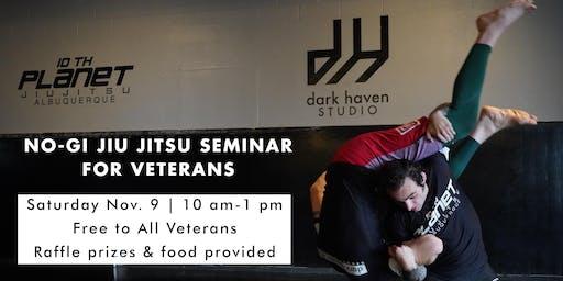 No-Gi Jiu Jitsu Seminar for Veterans
