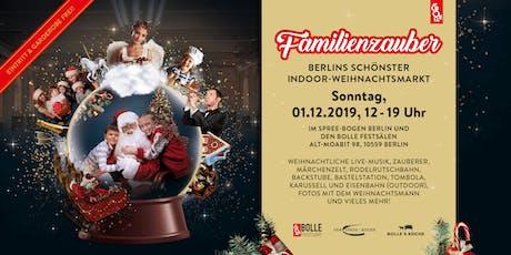 Weihnachtsmarkt Familienzauber Tickets