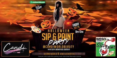 Halloween Sip & Paint Party