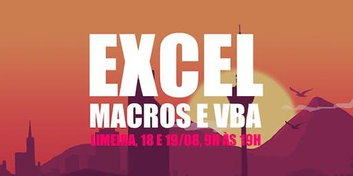 Excel, Macros e VBA - Unicamp Limeira
