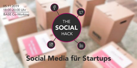 The Social Hack – Social Media für Startups Tickets