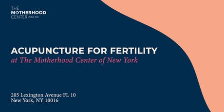 Acupuncture for Fertility  tickets
