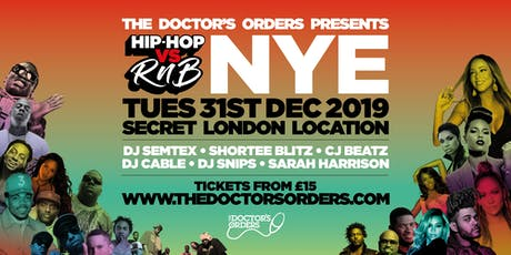 Hip-Hop vs RnB - New Year's Eve tickets