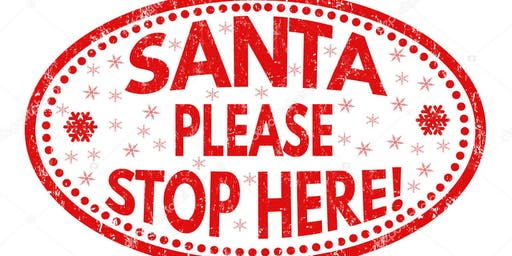 Fort McCoy South Post housing Santa Stop