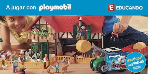¡A jugar con Playmobil! en Jugueterías Educando