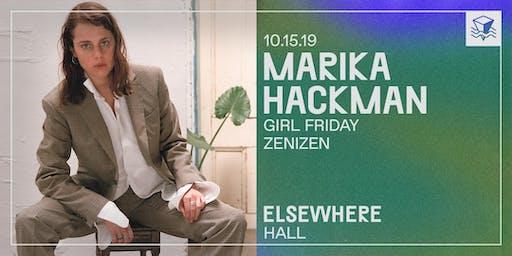 Marika Hackman @ Elsewhere (Hall)
