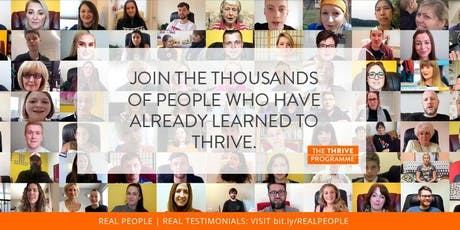 Introduction to The Thrive Programme for Parents tickets