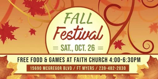 Fall Festival on Sat., Oct. 26