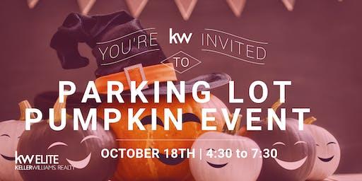 Parking Lot Pumpkin Event