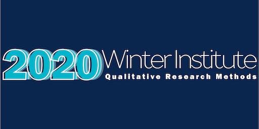 2020 Winter Institute: Qualitative Research Methods