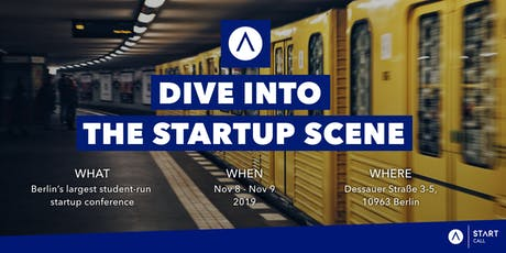 START Call 2019 - Dive into the startup scene Tickets
