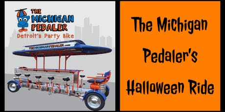 The Michigan Pedaler's Halloween Ride tickets