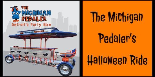 The Michigan Pedaler's Halloween Ride