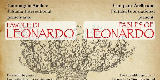 Leonardo comes to Philadelphia! Fables of Leonardo