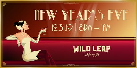 New Years Eve 2020 at Wild Leap Brew Co. tickets