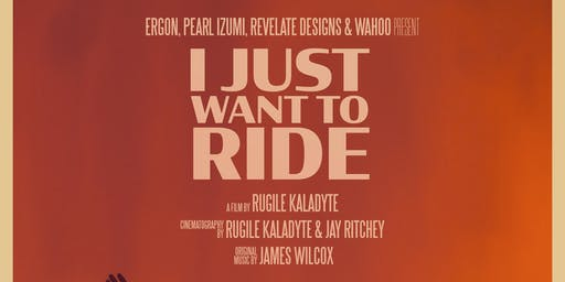 """Lael Wilcox film screening """"I Just Want To Ride"""":"""