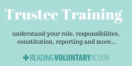 Trustee Training tickets
