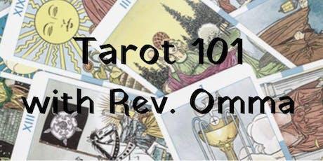 Tarot 101 with Rev. Omma tickets