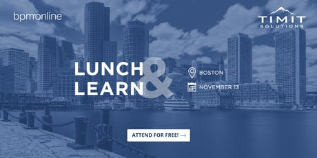 Lunch & Learn with TIMIT and Bpm'online tickets