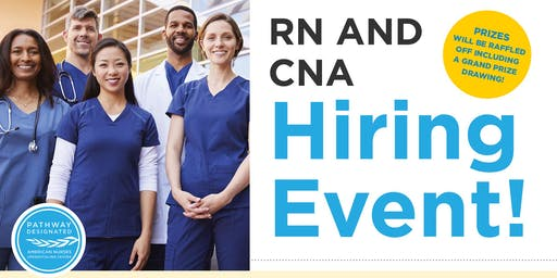 RN and CNA Hiring Event