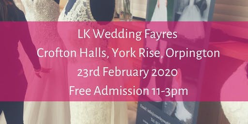 BIG Wedding Fayre, Crofton Hall , Orpington
