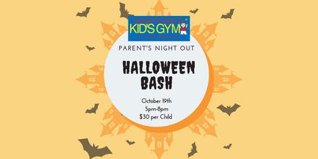Parent's Night Out- Halloween Bash tickets
