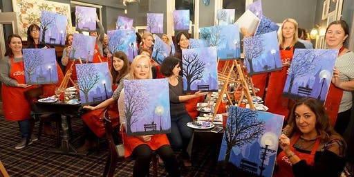 Winter Lights Brush Party - Woburn Sands