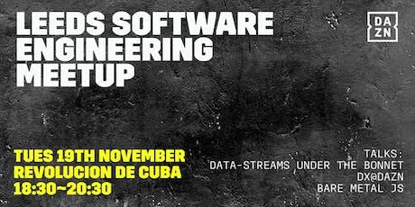 DAZN Software Engineering Meetup Leeds tickets
