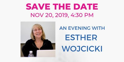 An evening with Esther Wojcicki