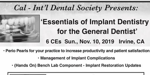 Essentials of Implant Dentistry for the General Dentist