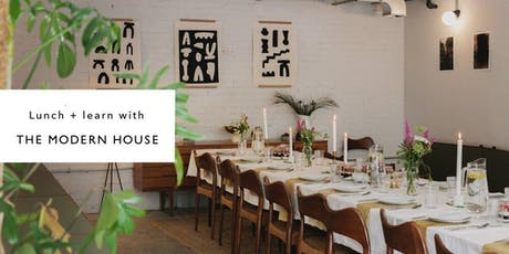 Lunch & Learn with Benk + Bo in collaboration with The Modern House tickets