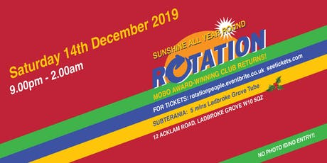 Rotation@Subterania  tickets